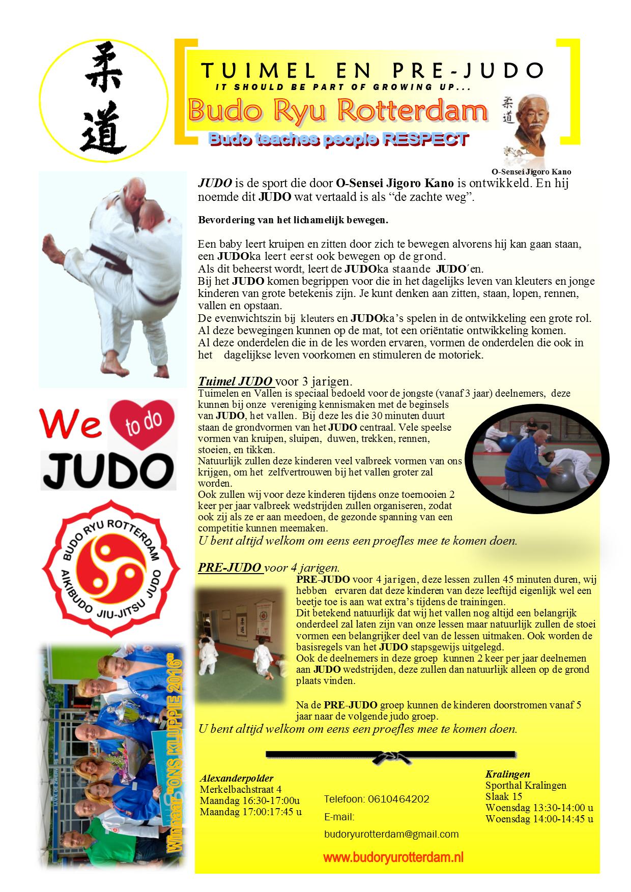 Flyer Tuimel-Pre Judo 2017